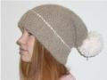 Heegeldatud müts. Kudumistoode.